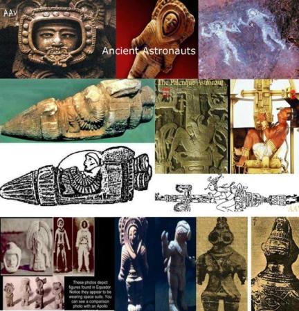 Antik Astronotlar ve Arkeo Astronomi