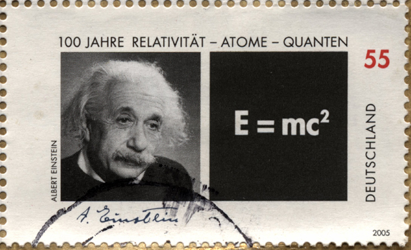 E=mc²,albert einstein