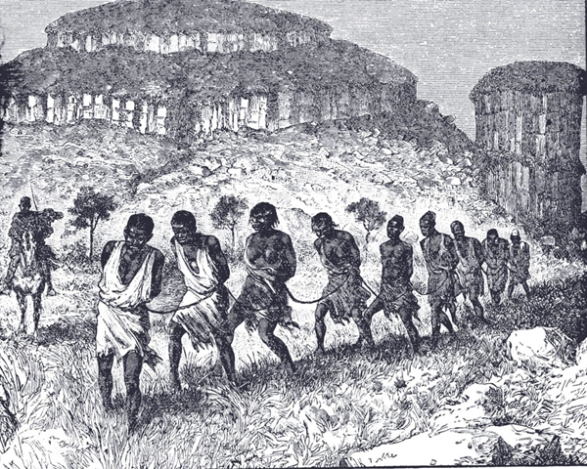 Slave Coffle, Western Sudan, 1879 81_jpg