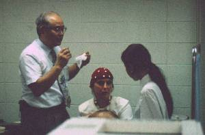 Carol Everett with Professor Machi