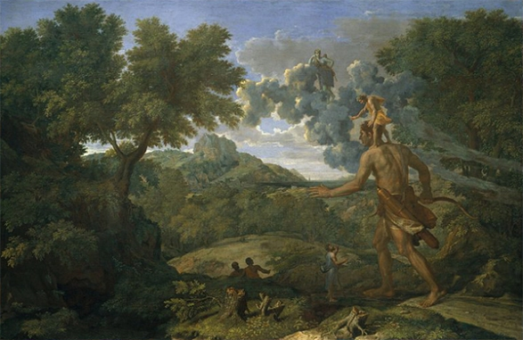 Nicolas Poussin (1658) blind orion