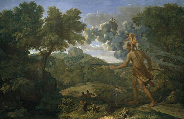 Nicolas Poussin (1658) blind orion